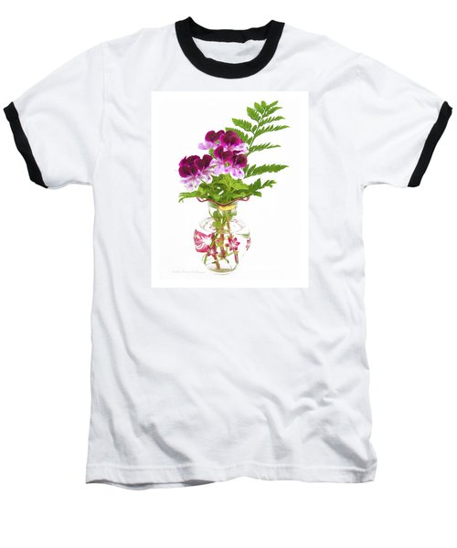Geranium 'witchwood' Baseball T-Shirt