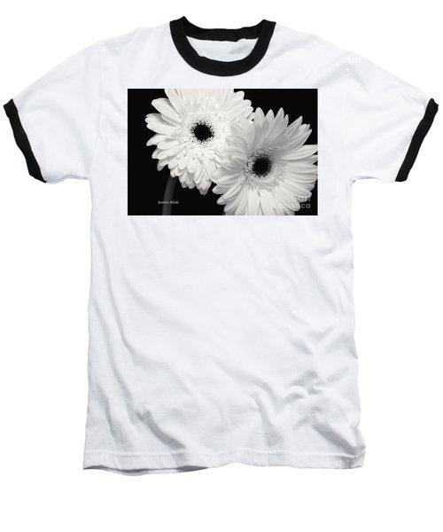 Gerbera Daisy Sisters Baseball T-Shirt