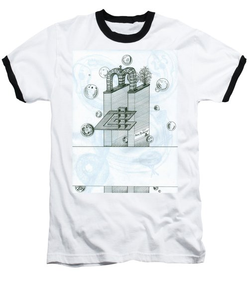 Ghostly Music 1 Baseball T-Shirt