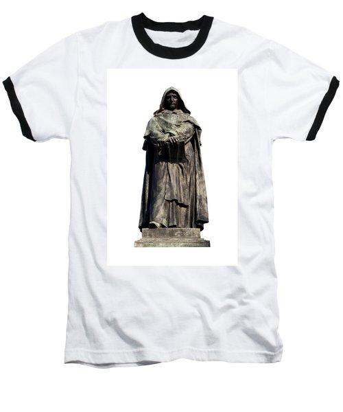 Giordano Bruno Baseball T-Shirt