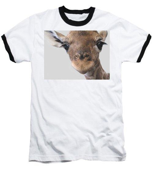 Giraffe Baby Baseball T-Shirt