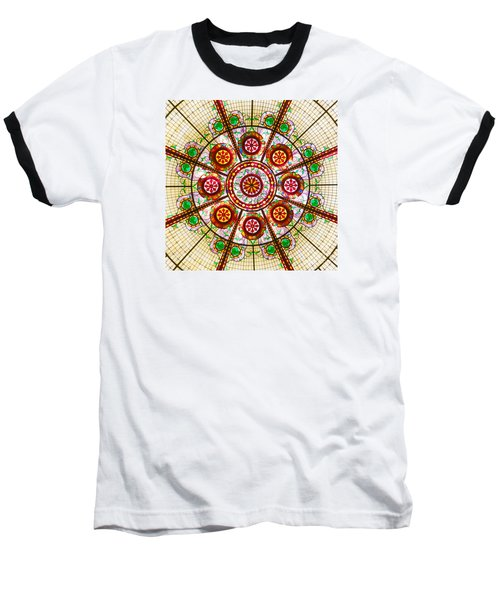 Baseball T-Shirt featuring the photograph Glass Dome by Val Miller
