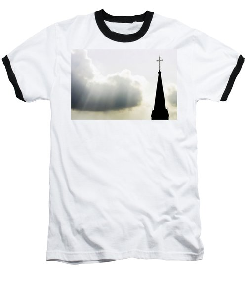 Baseball T-Shirt featuring the photograph Glorious Day by Charlotte Schafer