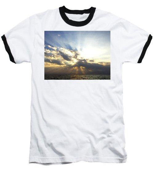 Glorious Rays Of Sunshine Baseball T-Shirt
