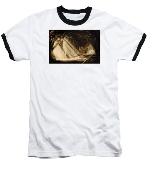 Glory Rays Baseball T-Shirt by Priscilla Burgers
