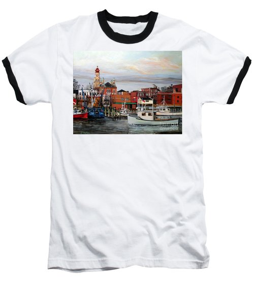 Gloucester Harbor Baseball T-Shirt