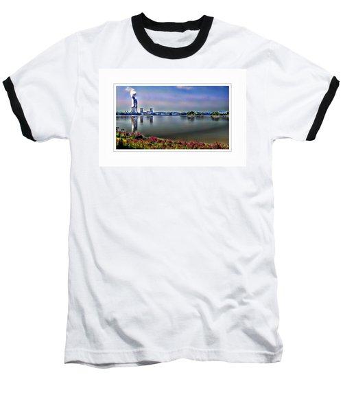 Glowing 3 Mile Island Baseball T-Shirt