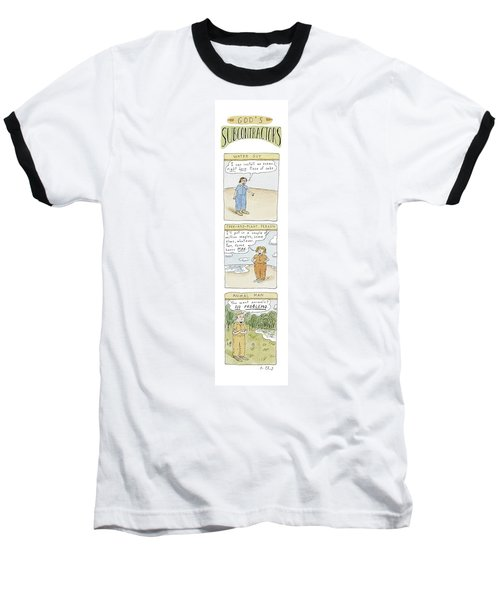 God's Subcontractors: Water Guy Baseball T-Shirt