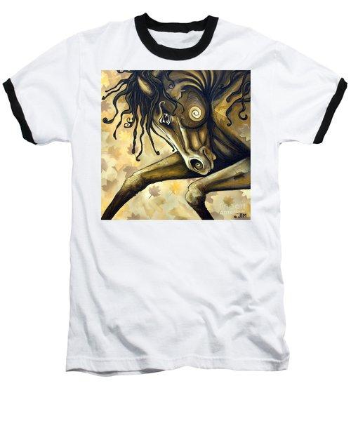 Gold Leaf Baseball T-Shirt