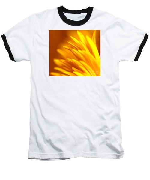 Golden Dahlia Baseball T-Shirt