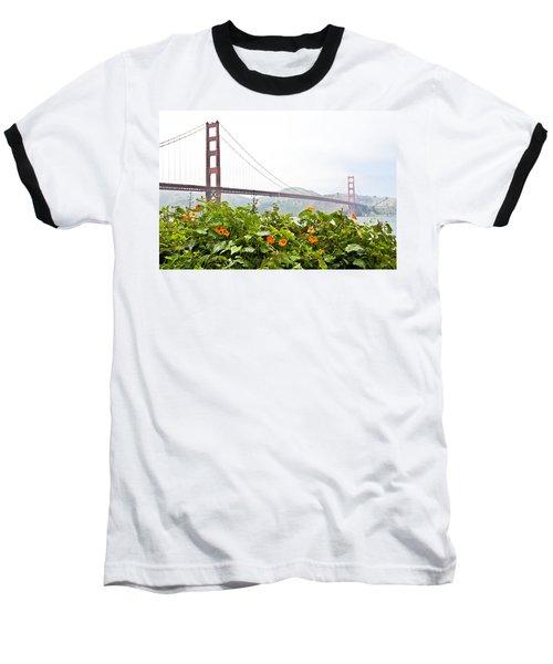 Golden Gate Bridge 2 Baseball T-Shirt