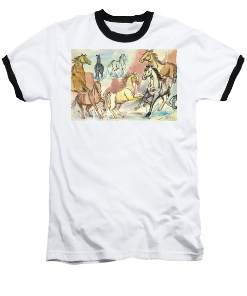 Golden Mare Baseball T-Shirt