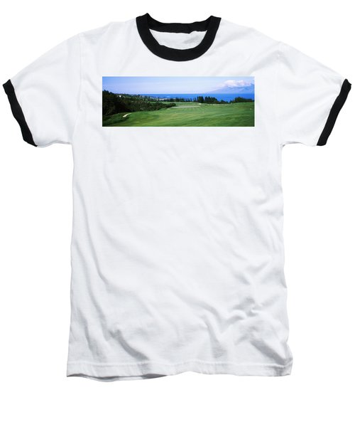 Golf Course At The Oceanside, Kapalua Baseball T-Shirt