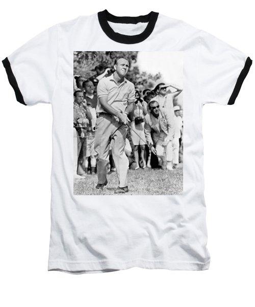 Golfer Arnold Palmer Baseball T-Shirt