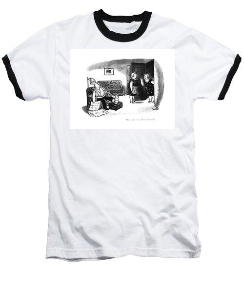 Good Afternoon Baseball T-Shirt