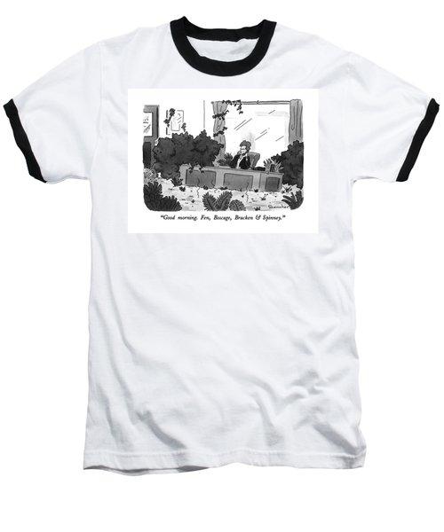 Good Morning.  Fen Baseball T-Shirt