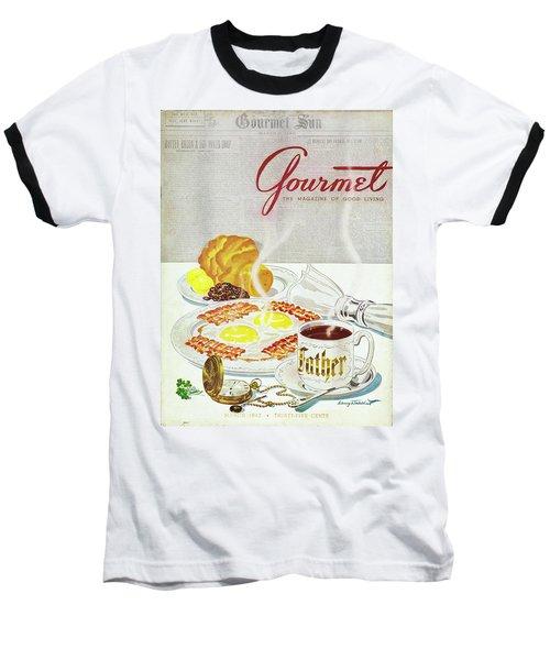 Gourmet Cover Of Breakfast Baseball T-Shirt