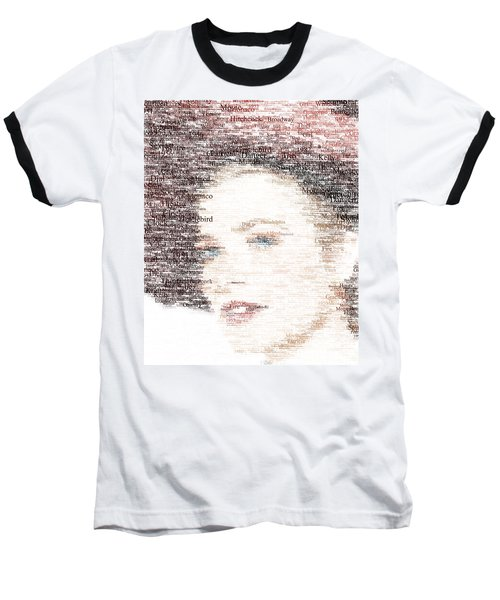 Grace Kelly Typo Baseball T-Shirt