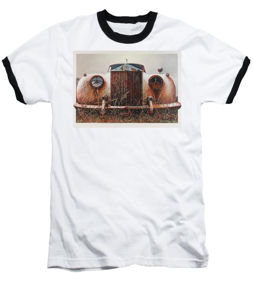 Grace - Rolls Royce Baseball T-Shirt by Blue Sky