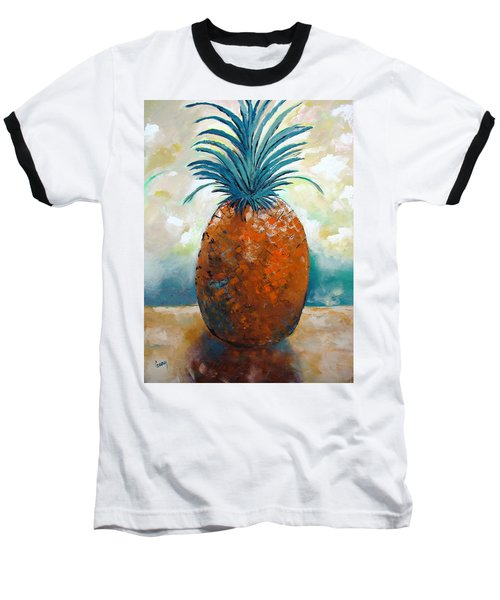 Baseball T-Shirt featuring the painting Graciousness by Gary Smith