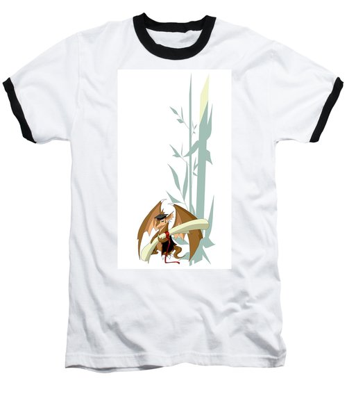 Graduation Dragon With Bamboo Baseball T-Shirt