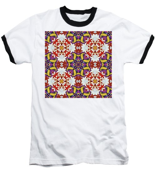 Graffito Kaleidoscope 40 Baseball T-Shirt