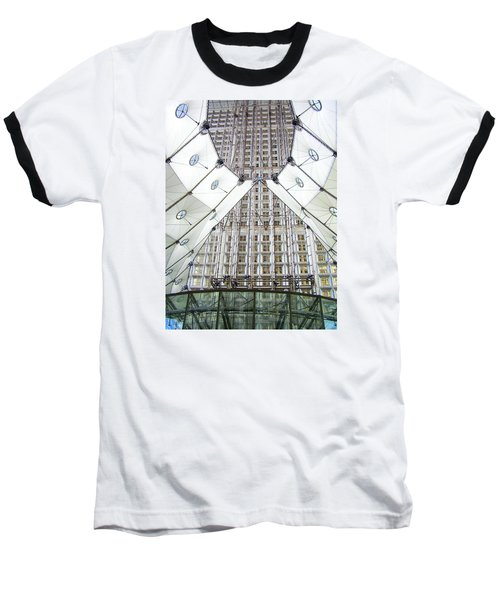 Grand Arche  Baseball T-Shirt by Oleg Zavarzin