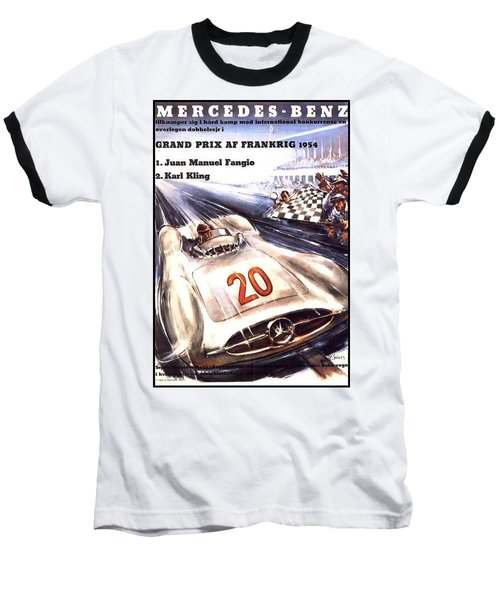 Grand Prix F1 Reims France 1954  Baseball T-Shirt