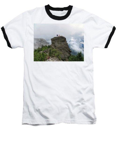 Grandfather Mountain Hikers Baseball T-Shirt