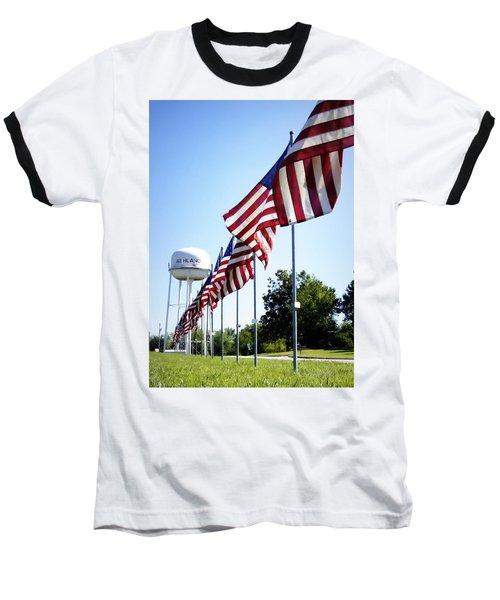 Gratitude Baseball T-Shirt by Cricket Hackmann