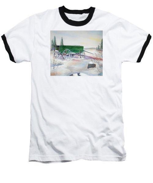 Green Wagon Baseball T-Shirt