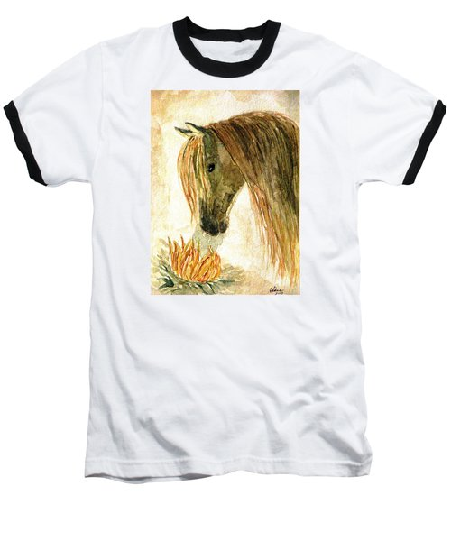 Greeting A Sunflower Baseball T-Shirt