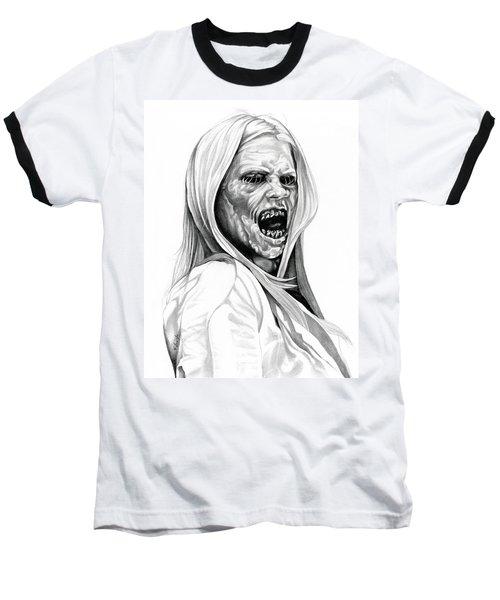 Grimm Hexenbiest Baseball T-Shirt by Fred Larucci