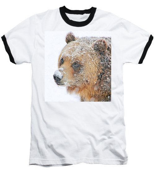 Grizzly Frost Baseball T-Shirt