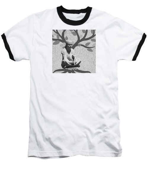 Baseball T-Shirt featuring the photograph Guardian Of The Tree Of Life by I'ina Van Lawick