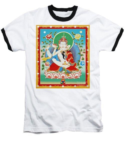 Guru Rinpoche Yab Yum Baseball T-Shirt