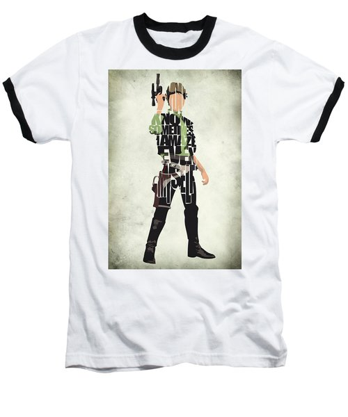 Han Solo Vol 2 - Star Wars Baseball T-Shirt