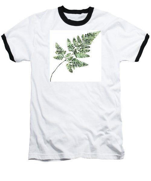 Happy Adventure Music Fern Baseball T-Shirt