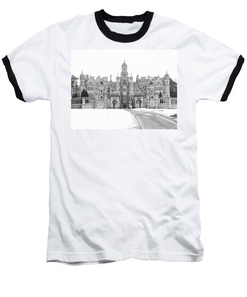 Harlaxton Manor Baseball T-Shirt