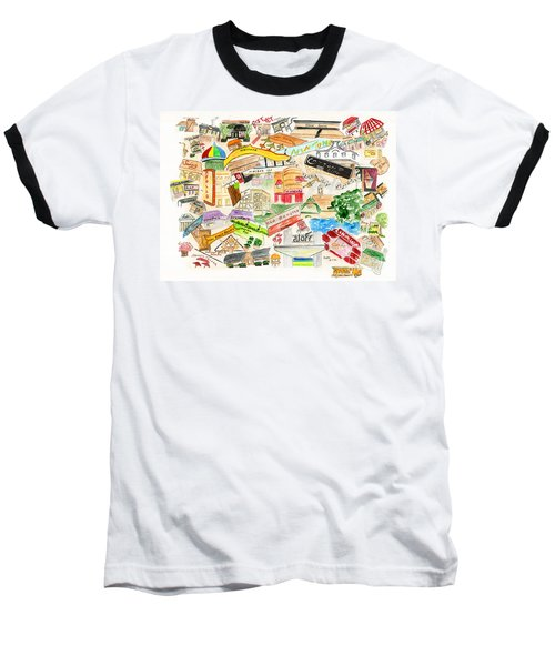 Harlem Collage Baseball T-Shirt