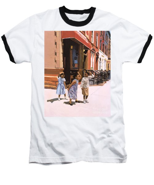 Harlem Jig Baseball T-Shirt by Colin Bootman