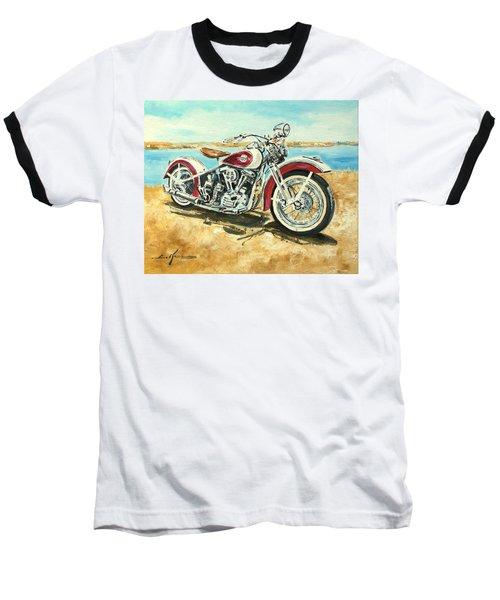 Harley Davidson 1960 Baseball T-Shirt
