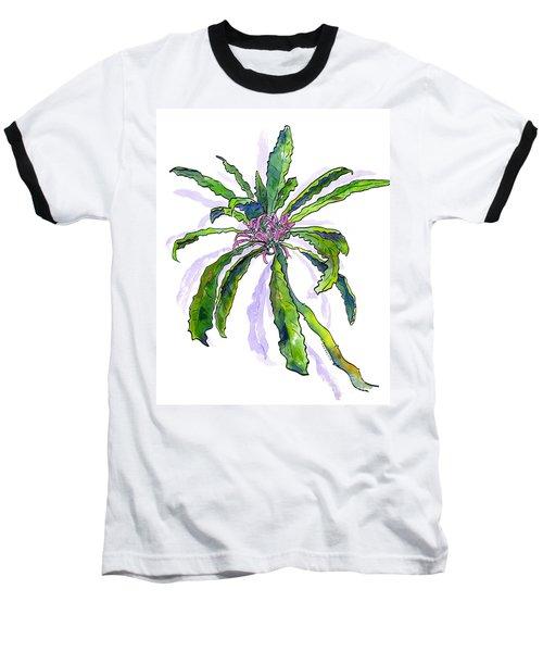 Hawaiian Haha Plant Cyanea Stictophylla Baseball T-Shirt