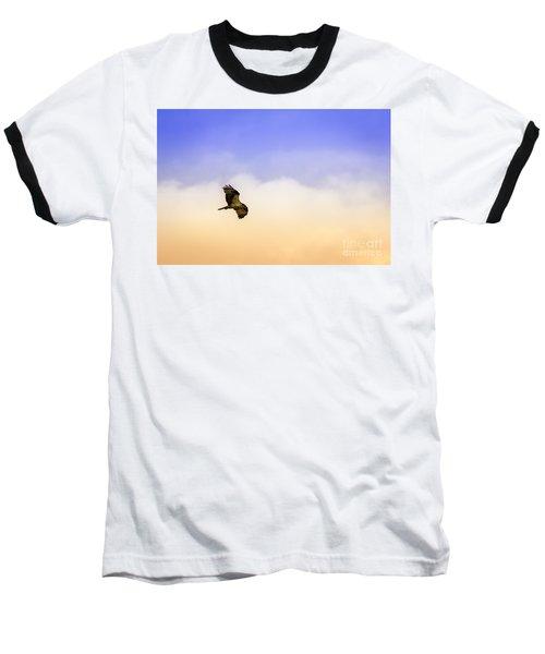 Hawk Over Head Baseball T-Shirt