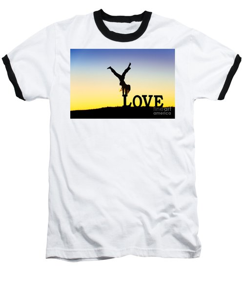 Head Over Heels In Love Baseball T-Shirt