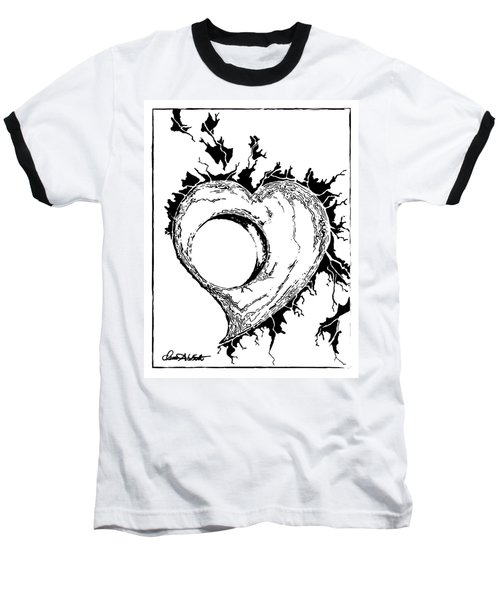 You Left A Whole In My Heart Baseball T-Shirt