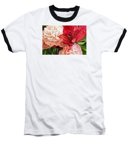 Baseball T-Shirt featuring the photograph Heart's A Flutter by Julie Andel