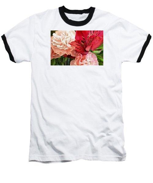 Heart's A Flutter Baseball T-Shirt