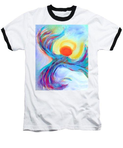 Heaven Sent Digital Art Painting Baseball T-Shirt