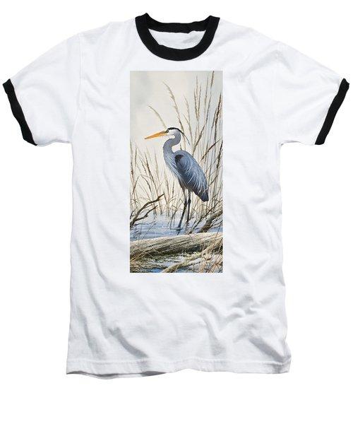 Herons Natural World Baseball T-Shirt